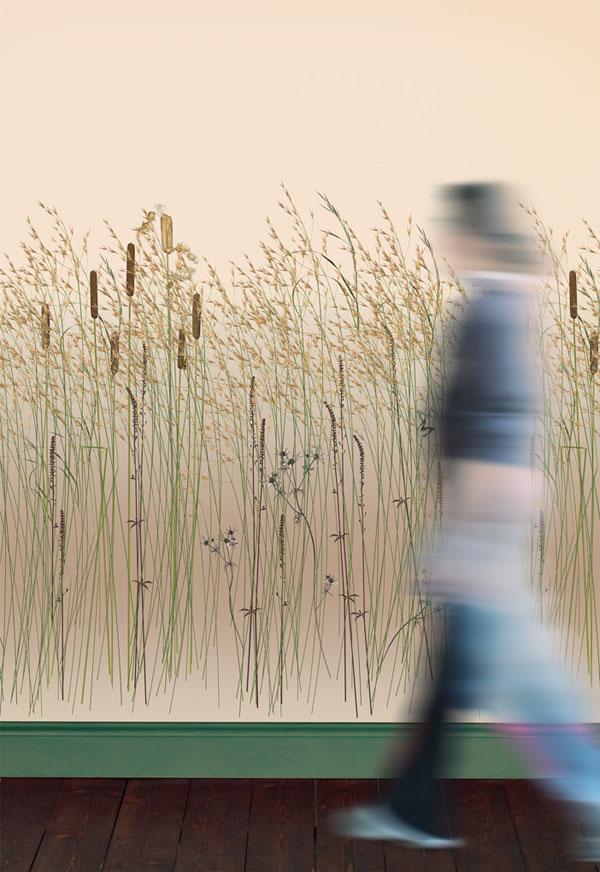Exclusive Bambus Gras Tapete