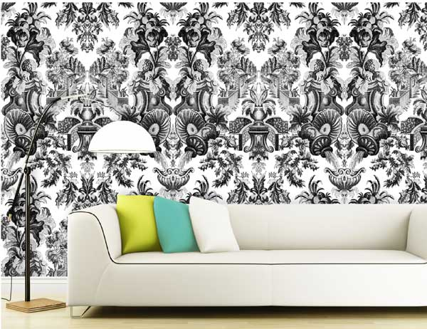 Varia by kl tapeten hc cole son today interiors for Toile tendue jardin